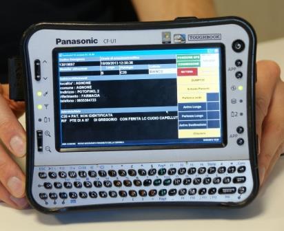 Panasonic Thoughbook per servizi emergenza