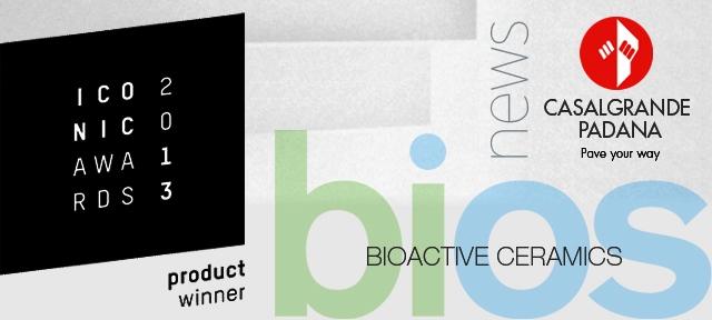 Iconic Award a Casalgrande Padana ceramiche bioattive