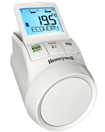 Termostato elettronico da radiatore Honeywell