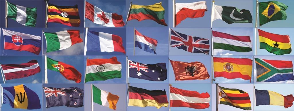 Personale di 28 paesi al London City Airport