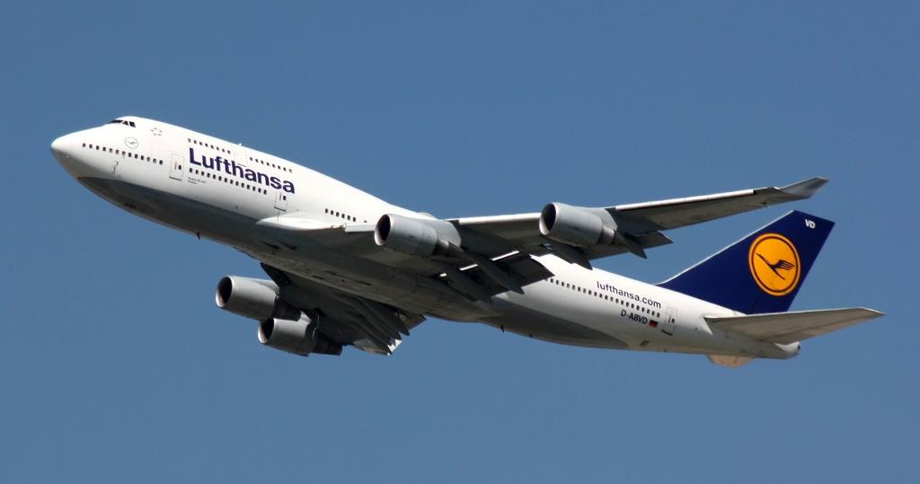 Autorizzato uso smartphone in voli Lufthansa