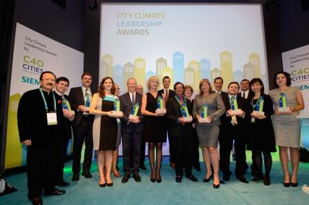 City Climate Leadership Awards di SIEMENS
