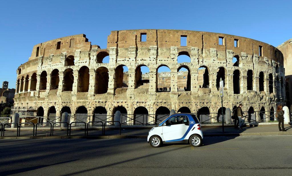 car2go Roma 20.000 iscrizioni in un mese