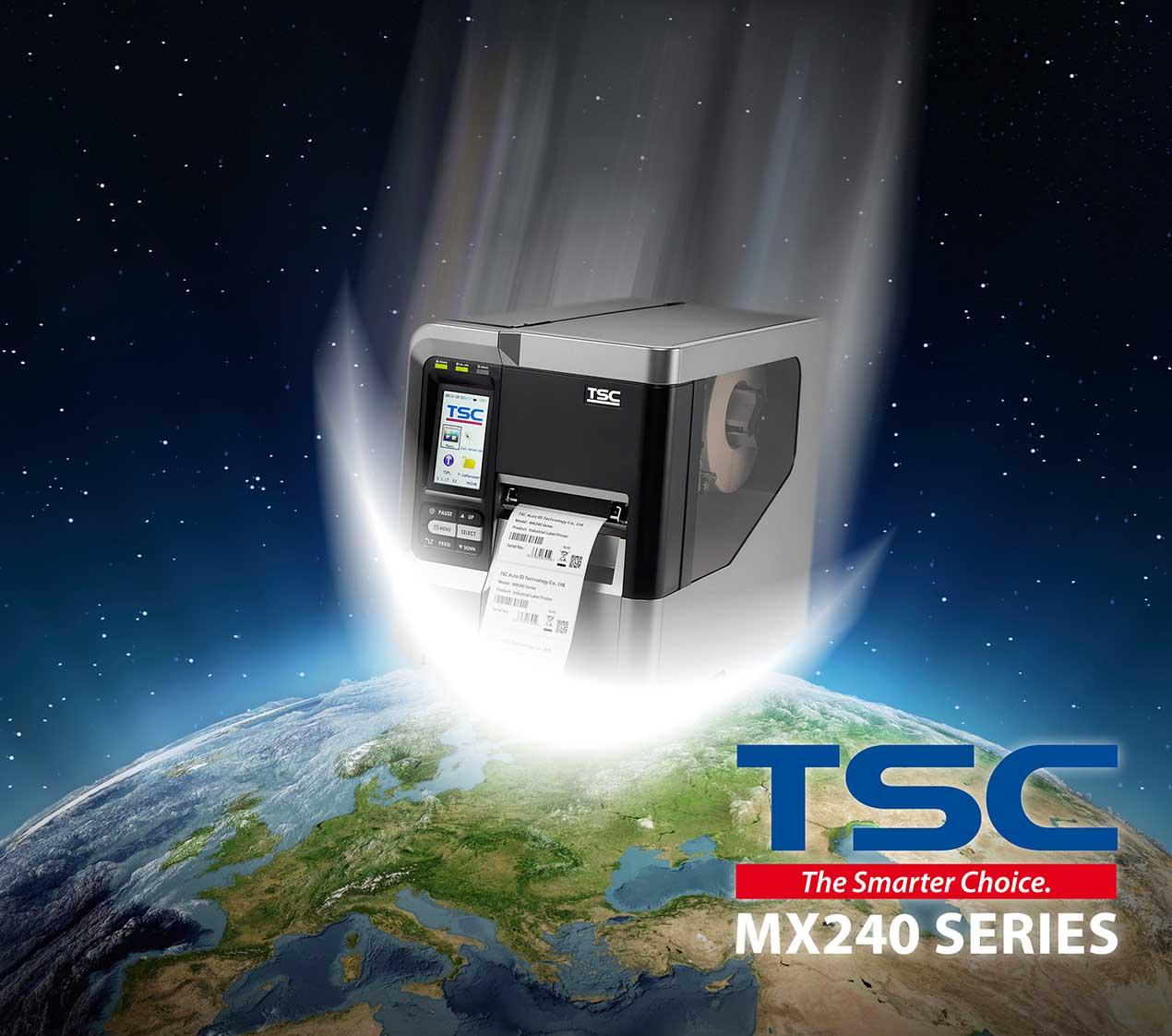 Stampanti etichette TSC a trasferimento termico
