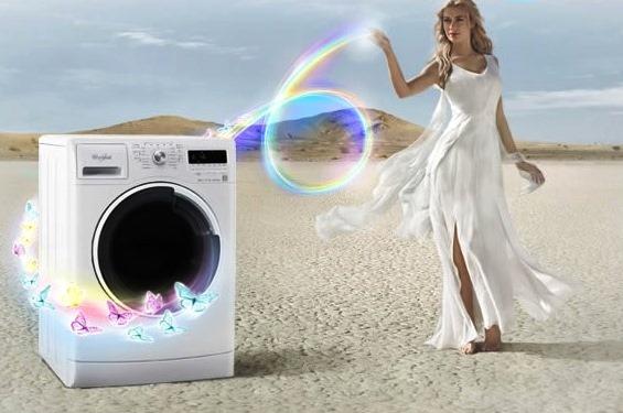 Lavatrice Whirlpool: intelligenza elettronica migliora prestazioni e consumi