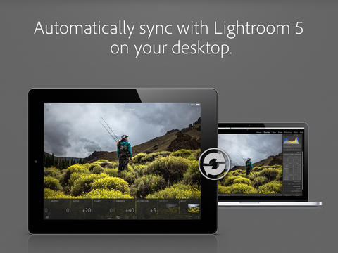 Adobe Lightroom Mobile porta fotografia su iPad