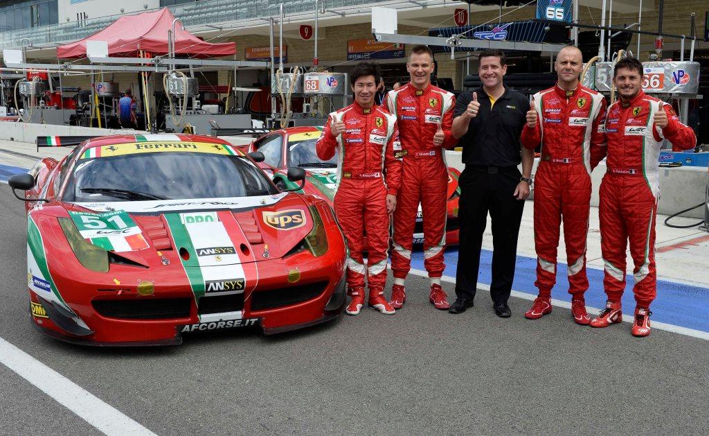 Con simulazione ANSYS Ferrari vince campionato FIA