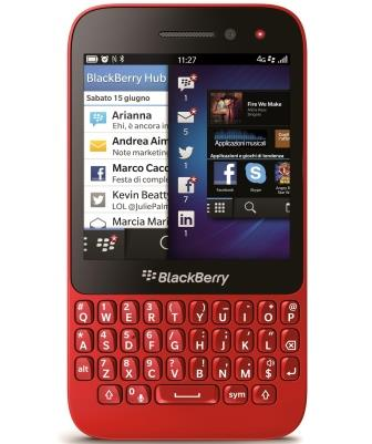 BlackBerry Q5 arriva in Italia