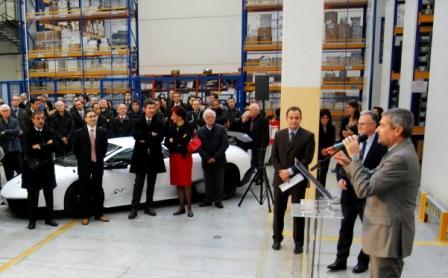 Chimar inaugura centro logistico per Automobili Lamborghini