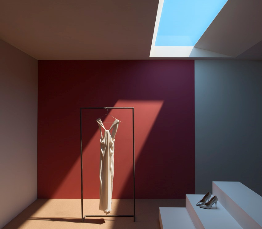 Vivere luce outdoor con CoeLux