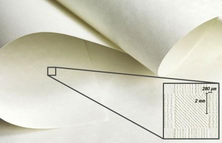 Goffratura speciale anticontraffazione in carta Favini