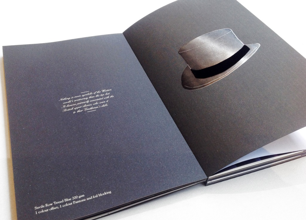 Savile Row Visual Book carte Fedrigoni