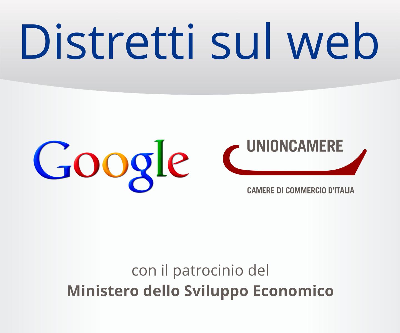 Agenda Digitale: Google e Unioncamere per Distretti sul Web