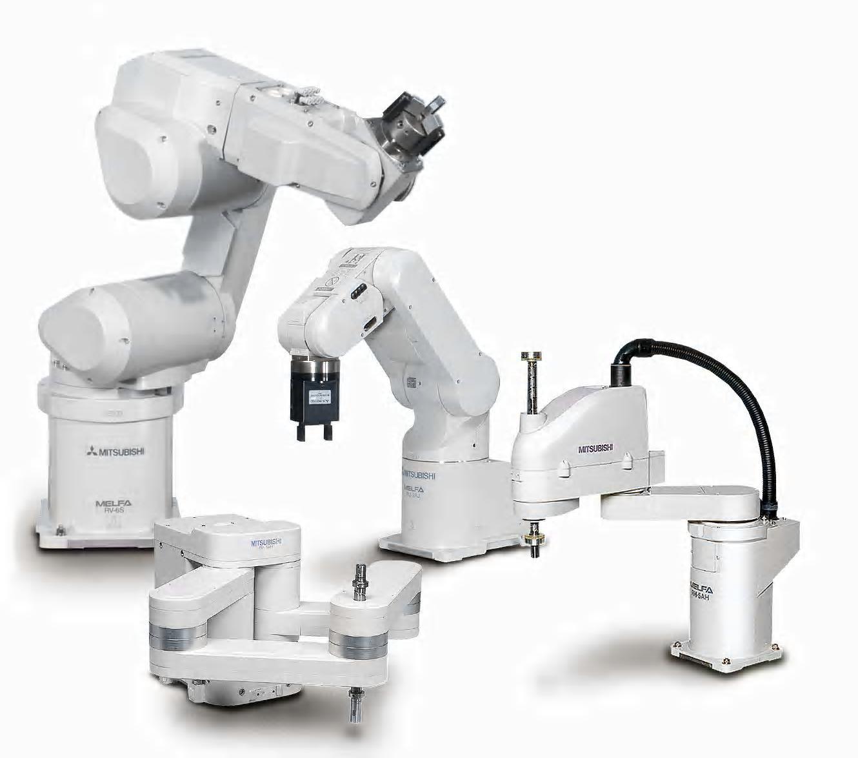 Robot di produzione Mitsubishi Electric
