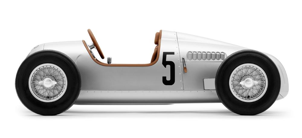 Al Museo Nicolis la Auto Union di Tazio Nuvolari