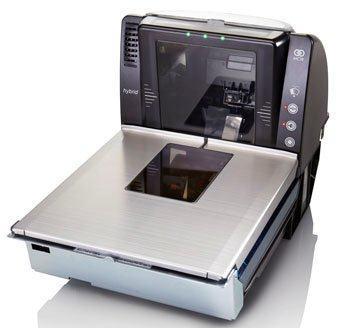 NCR scanner bi-ottico tecnologia laser e imaging