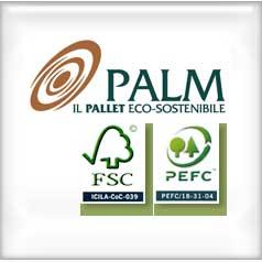PALM Green Pallet: il vantaggio competitivo di produrre sostenibili