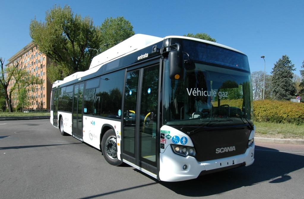 Autobus a Gas Scania Euro 6 a Trentino Trasporti