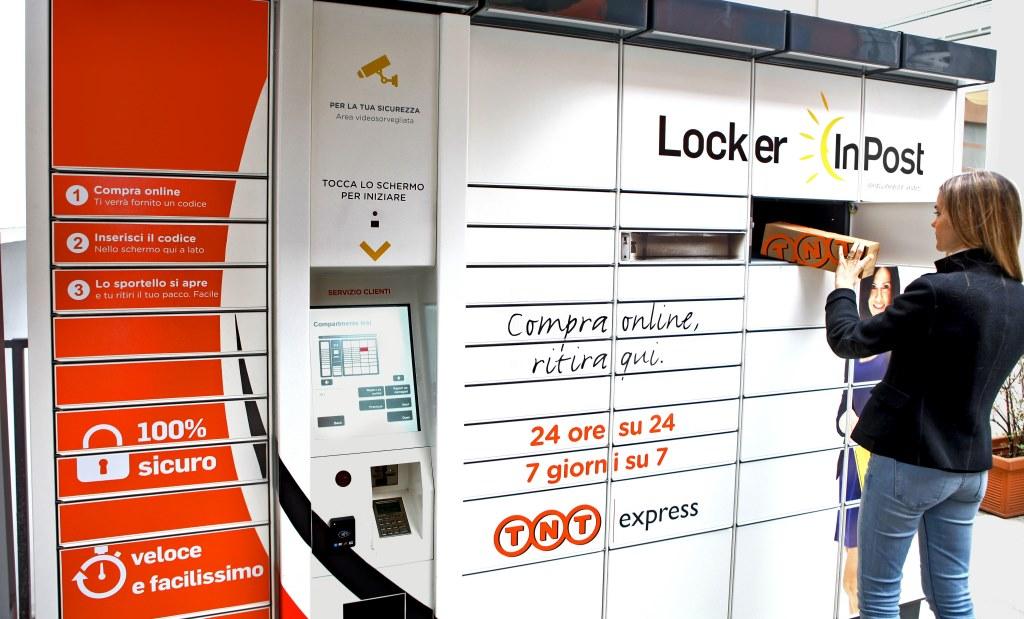 TNT Express Italy e InPost nel più grande Parcel Locker Network italiano