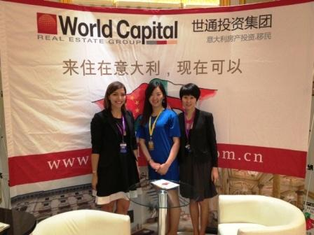 World Capital promuove immobiliare italiano a Wenzhou in Cina
