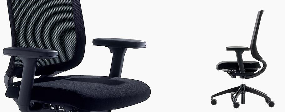 Brunner Too e Too 2.0 la sedia da ufficio che si adata e salva la schiena