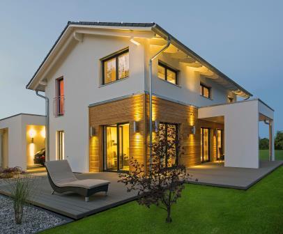 Haas Fertigbau casa prefabbricata eco-sostenibile