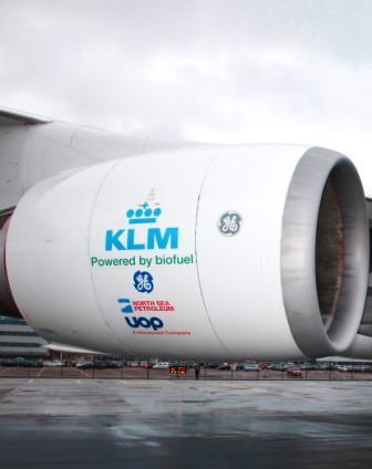 KLM effettua primo volo commerciale a biokerosene