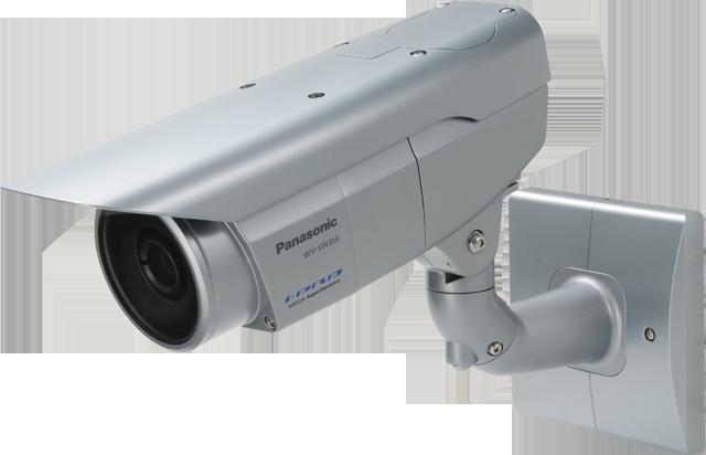 Telecamera di sicurezza Panasonic a infrarossi