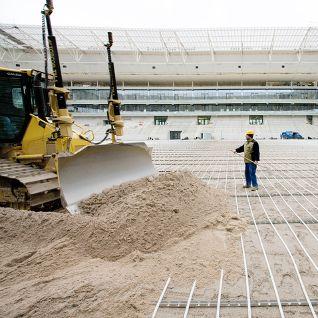 Europei 2012: stadi riscaldati con sistemi radianti REHAU