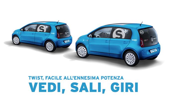 Car sharing a Milano: nuovo operatore Twist