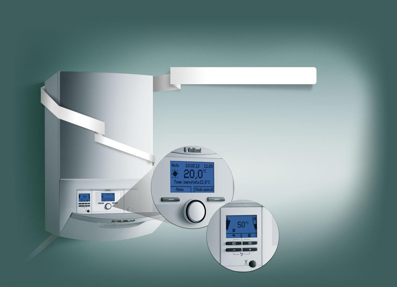Vaillant pompa di calore a gas con sistema acqua e zeolite