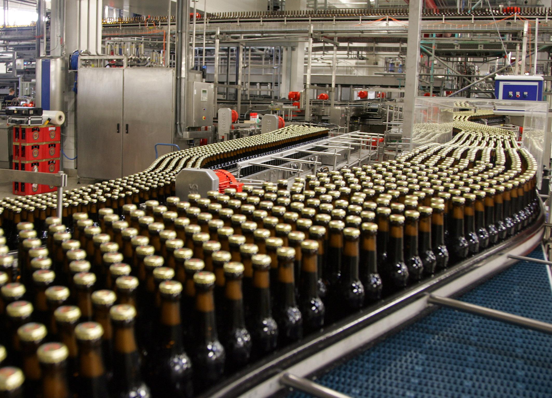Approvvigionamento acqua potabile per fabbrica Birra Paulaner con pompe WILO