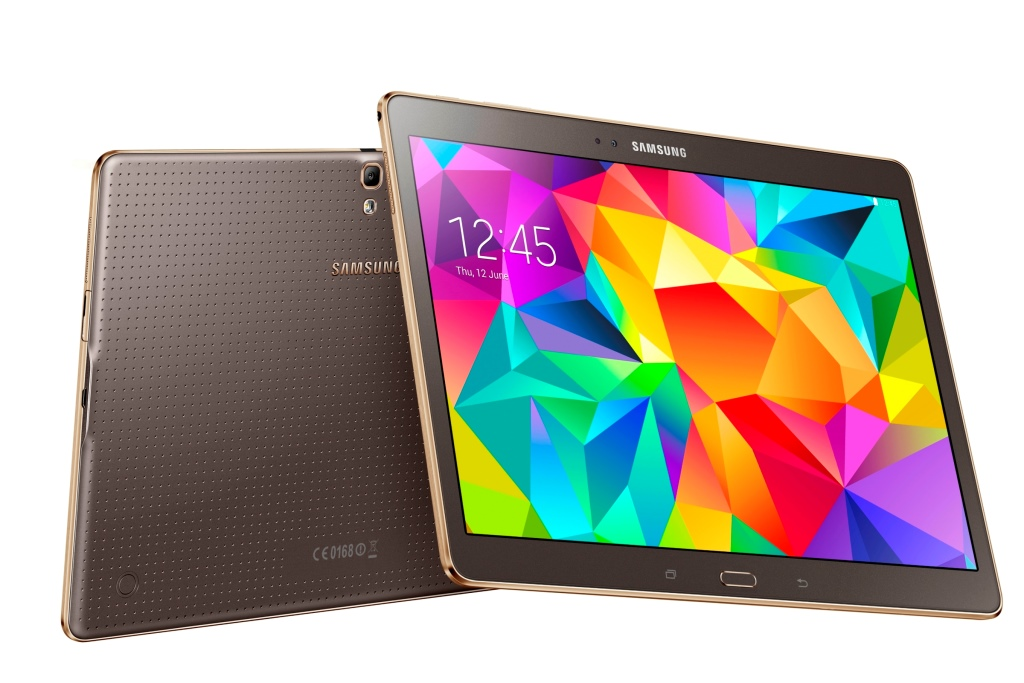 Tablet Samsung Galaxy Tab S accende il colore