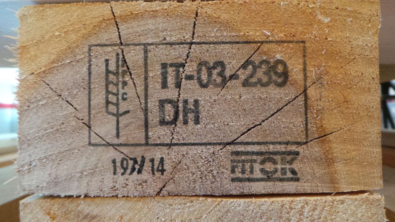 Tecnologia italiana per trattamento fitosanitario imballaggi legno