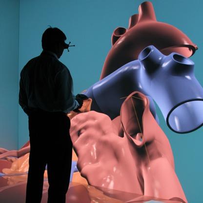 Cuore in 3D di Dassault Systèmes per studio malattie cardiache e terapie