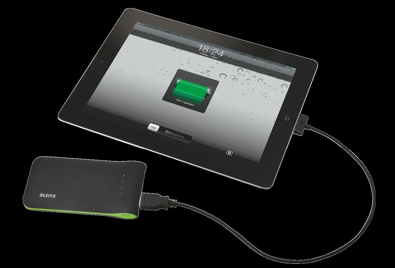 Leitz Complete: caricatore 3 in 1 e caricatore portatile USB