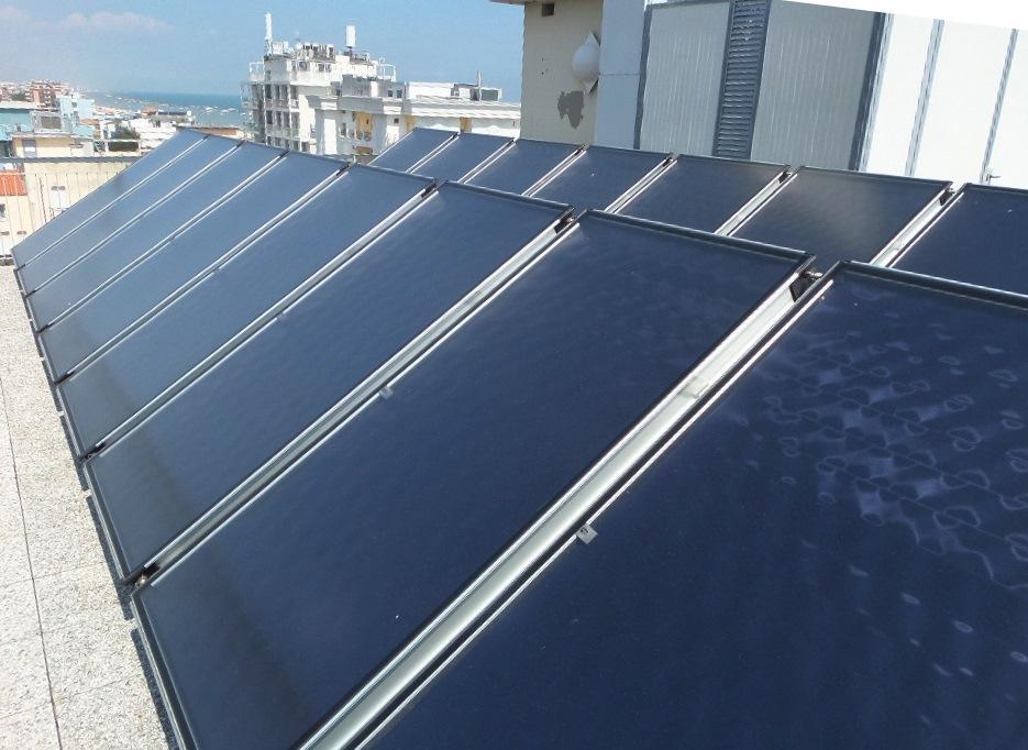 Impianto solare a Hotel Mirabel Rimini per migliore efficienza energetica