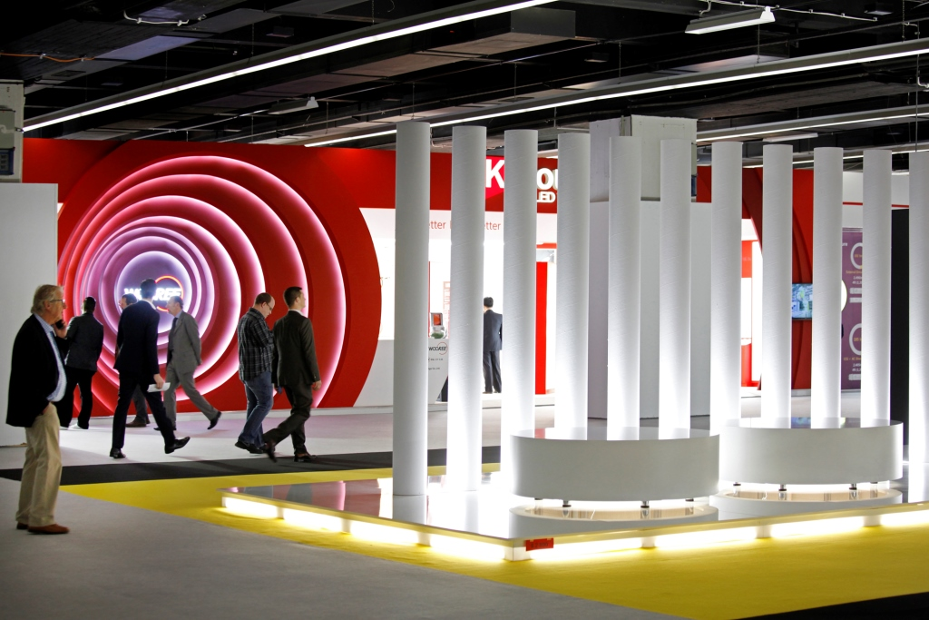 Messe Frankfurt: Light and Building 2014 exibition space and visitors record