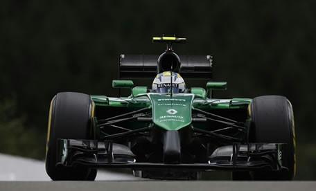 Linde MH & Caterham insieme a Monza in F1