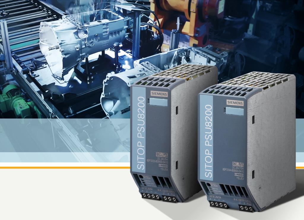 Alimentatori Siemens da 24 Vcc: meno spazio, più efficienza
