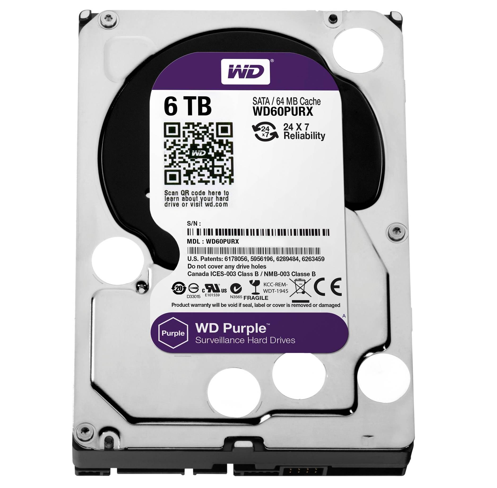 WD espande linea hard disk per videosorveglianza