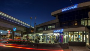 London City Airport_Terminal front