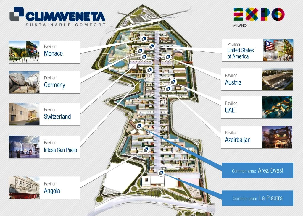 100 days to the Expo2015, Climaveneta is ready!