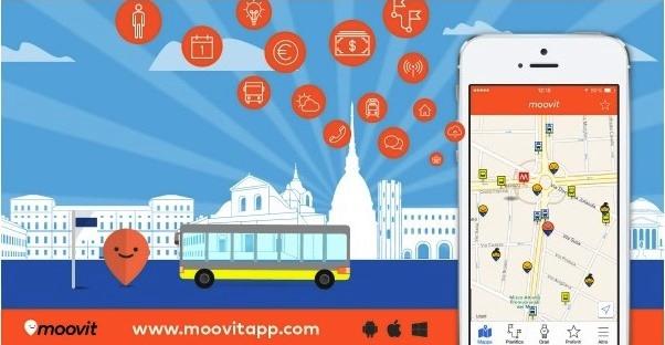 Città di Torino e Moovit Community di infomobilità
