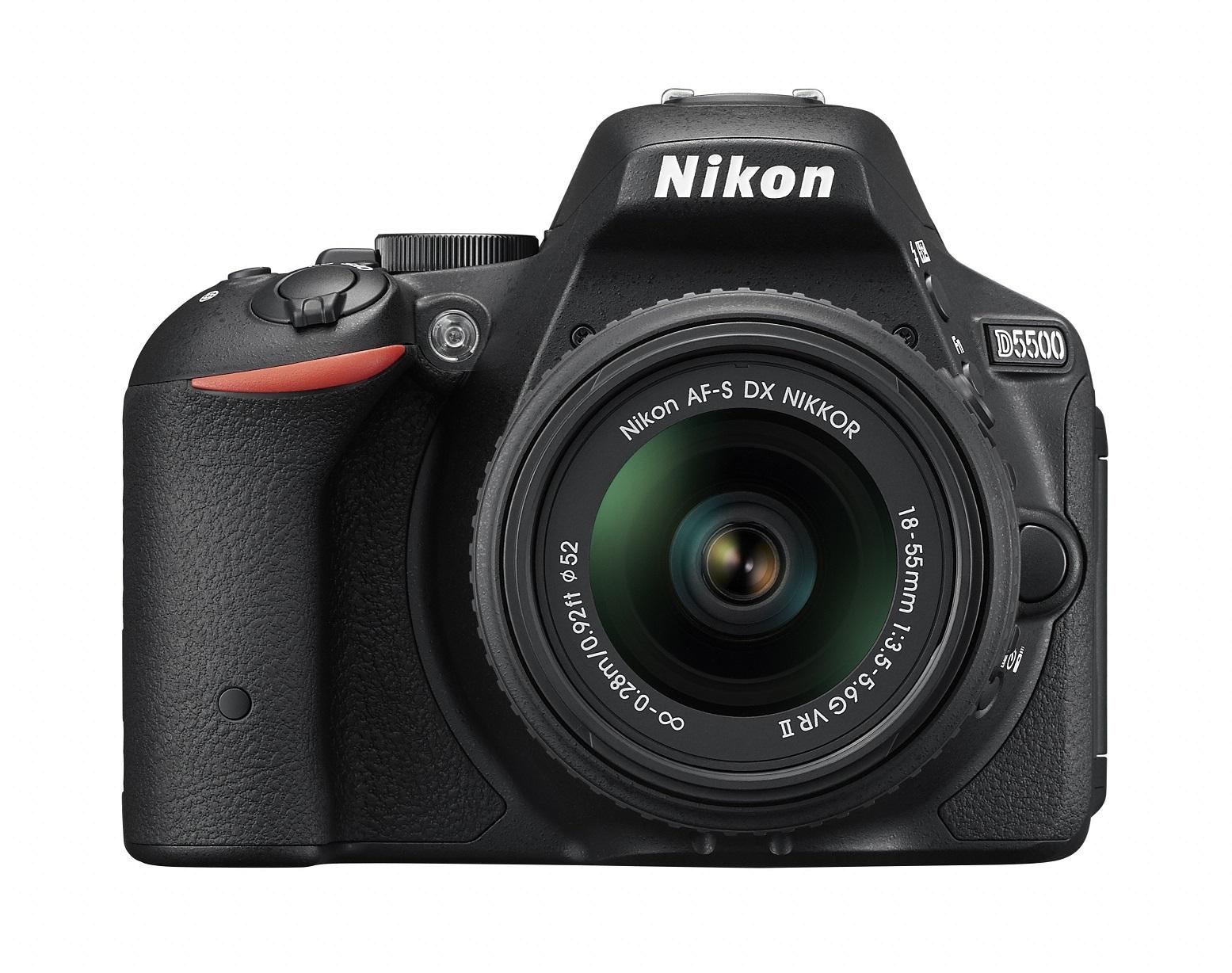 Nikon D5500 reflex formato DX con monitor touch screen