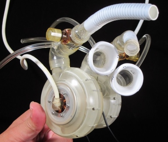 Total Artificial Heart in University of Tokyo with PTC Creo