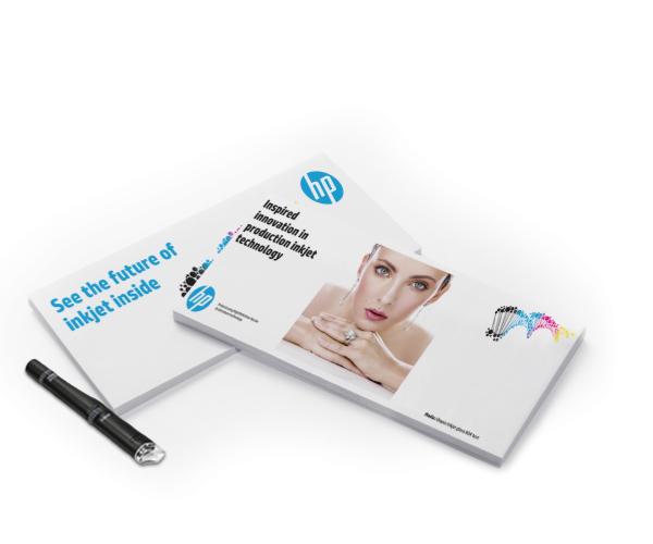 Qualità e versatilità HP Inkjet con architettura alta definizione