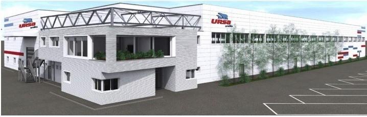 Innovativo stabilimento URSA a Bondeno dopo distruzione del sisma in Emilia