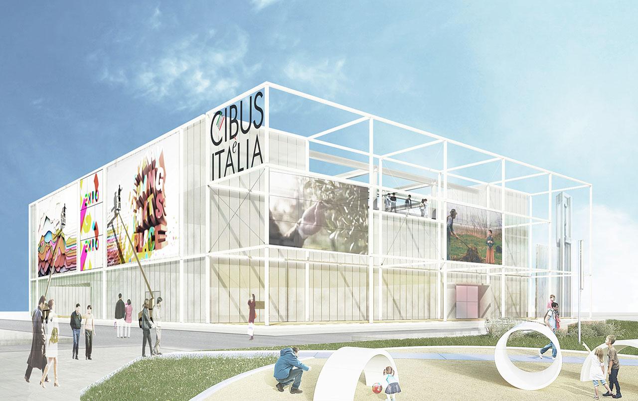 Cibo, arte, design nel Padiglione EXPO del Food Made in Italy