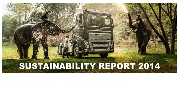 Volvo publishes its sustainability report for 2014